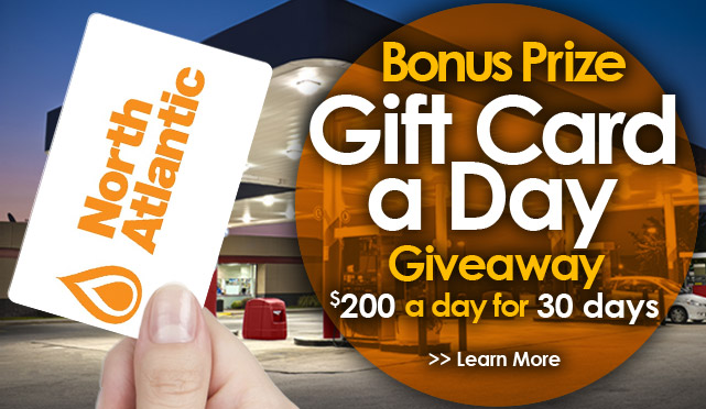 North Atlantic Gift Cards Prize