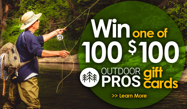 Outdoor Pros Gift Cards Price