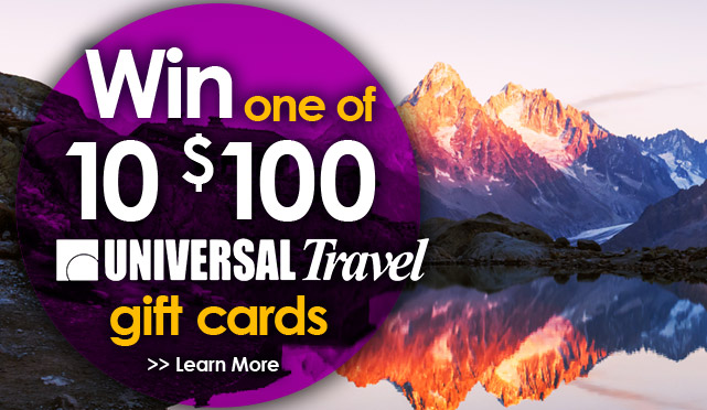 Universal Travel Gift Cards